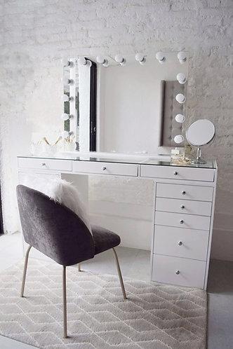Mesa maquillaje + espejo 4