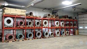 Midwest Metal Forming Steel Rolls