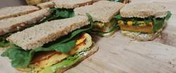 Egg Bake Breakfast Sandwiches