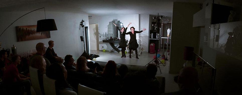 Le théâtre à domicile -Atelier Pallagès