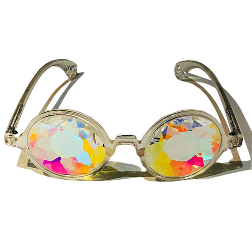 e438c9d81c3b Whirlpool Kaleidoscope Glasses (Clear)