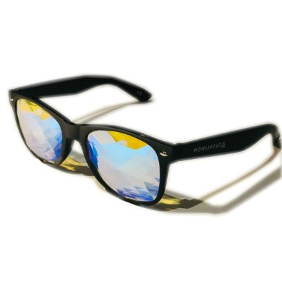 6e59ad6e68bb Mirage Kaleidoscope Glasses (Black)