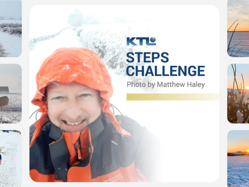 Matthew Haley was one of the top performers during KTL's extremely successful Let's Get Moving Steps