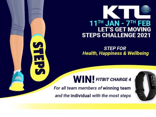 Let's Get Moving Steps Challenge 2021