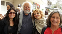Ema Wolf, Juan Sasturain y Natalia Porta