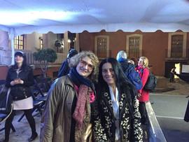 Con Sandra Lorenzano