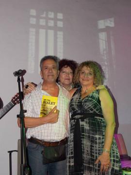 Con Fernando Lopez y Reina Carranza