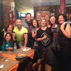 Grupere en el Foro de Fomento del Libro y la Lectura, Chaco, 2015