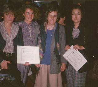 Malicha Leguizamón. 1990