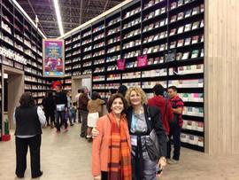 Con Cristina Vanegas