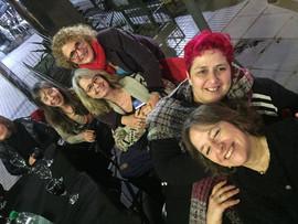 Paula Martín, Carola Martinez, Laura Leibiker, María Inés Garinaldi