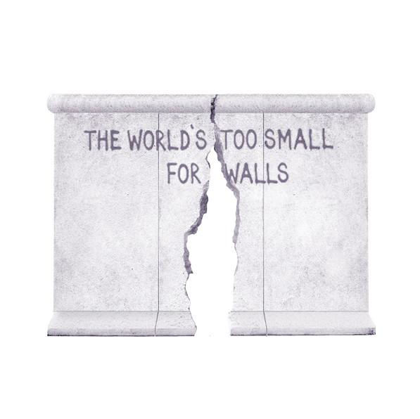 The Berlin Wall Crack