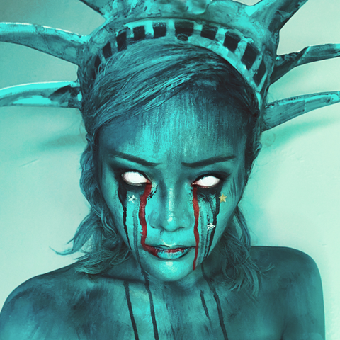 Crying Liberty.