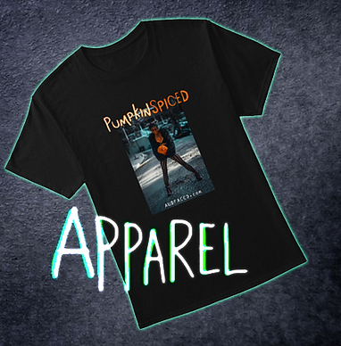 pumpkin spiced tshirt apparel thumbnail
