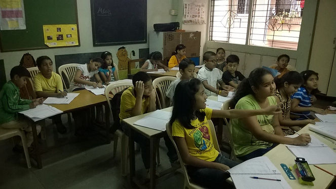 Remedial Education at Laksh Sanpada