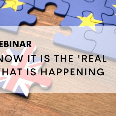 Webinar on Brexit a great success and now on YouTube