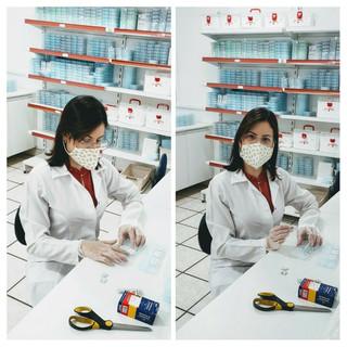 separação diária das medicações conforme prescrição médica