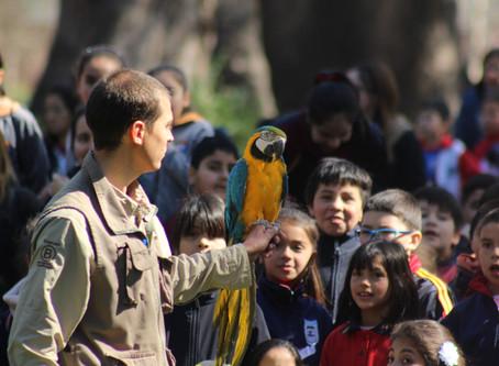 Buin Zoo visitó Las Garzas