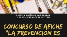 """Concurso de afiche """"La prevención es tarea de todos"""""""