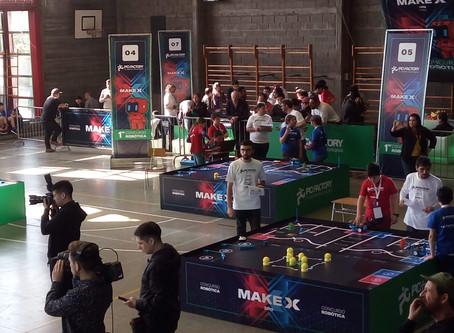 Concurso Robótica MAKE X