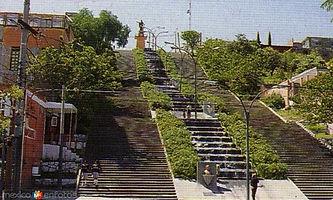 ESCALINATA DE LOS HÉROES. Ciudad de Tlaxcala. ENLACES TURISTICOS