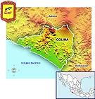 MAPA DE COLIMA www.enlacesturisticos.com