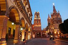 ZOCALO DESAN MIGUELD ALLENDE. Guanajuato. Enlaces Turisticos