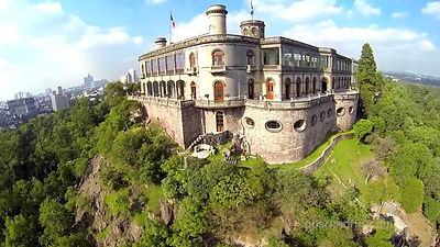 CASTILLO DE CHAPULTEPEC. Ciudad de México. Paseos Virtuales