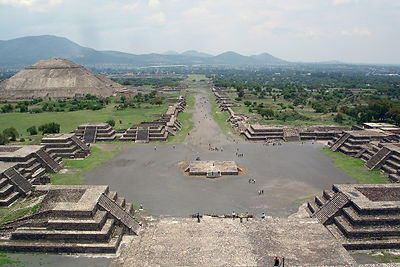 TEOTIHUACÁN. Estado de México. Enlaces Turísticos