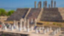 TULA DE ALLENDE. Zona arqueológica. Enlaces Turísticos