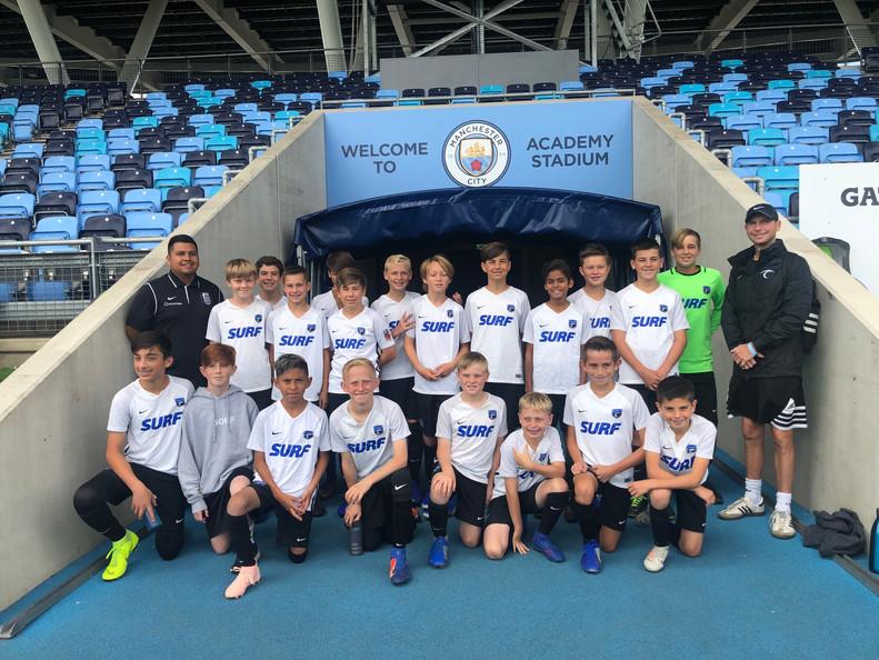 SC Surf vs Man City Select at City Football Academy