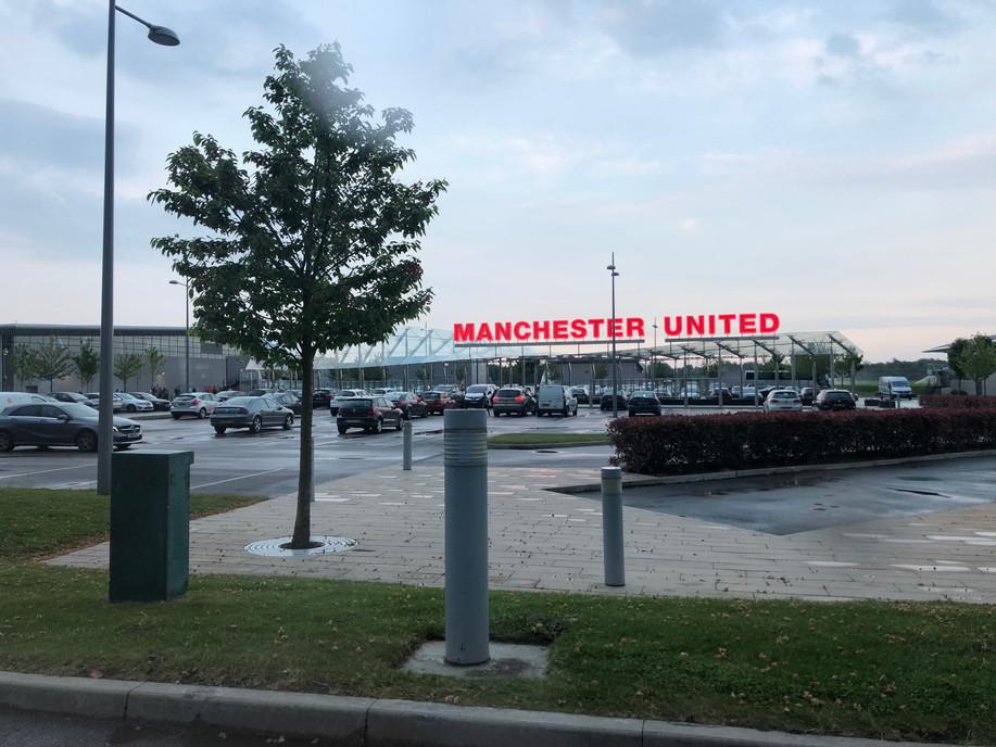 FC Dallas vs Manchester United u12s at AON Training Complex