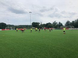 Sunderland training at SGP