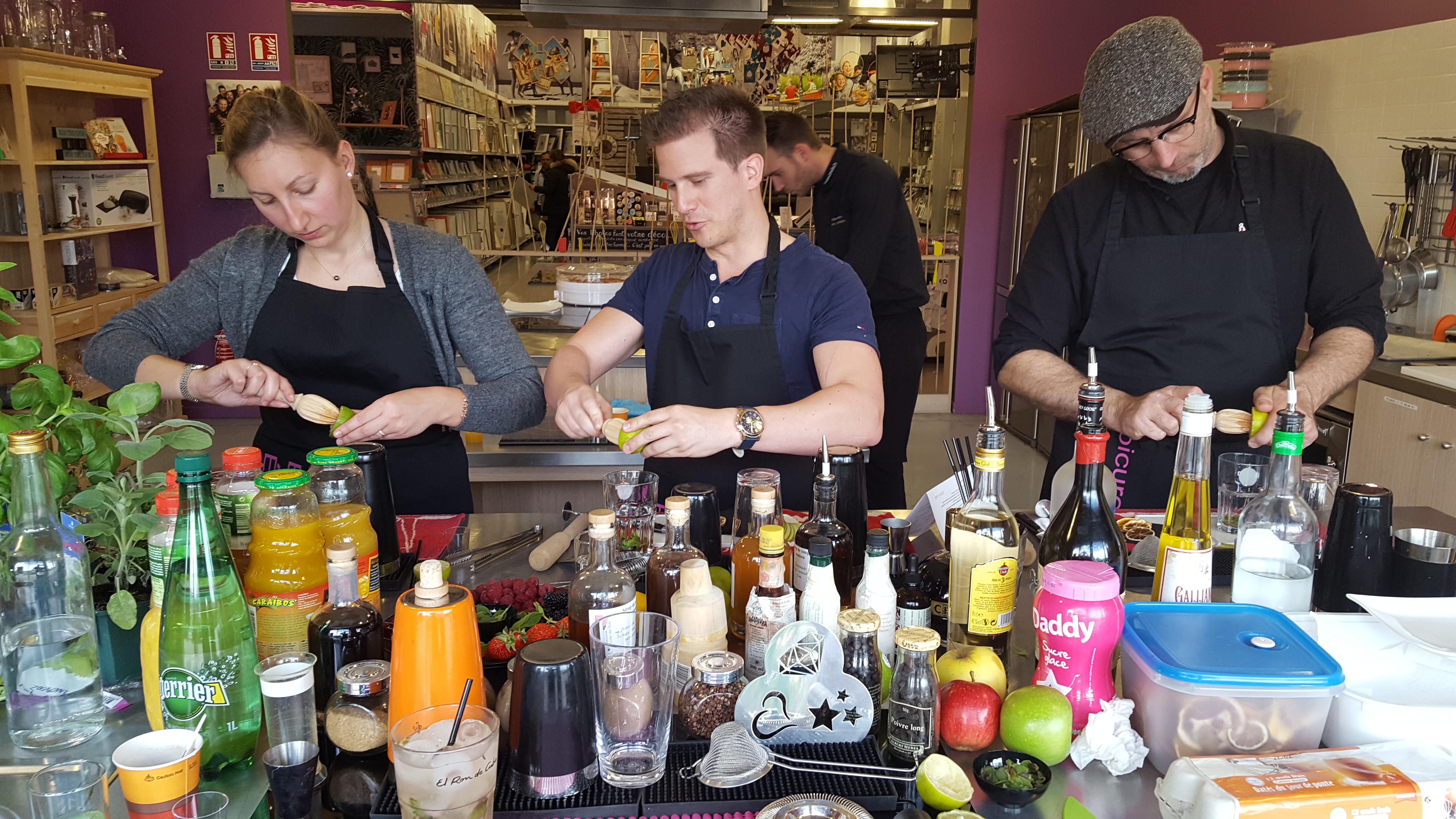 Apprenti Barman