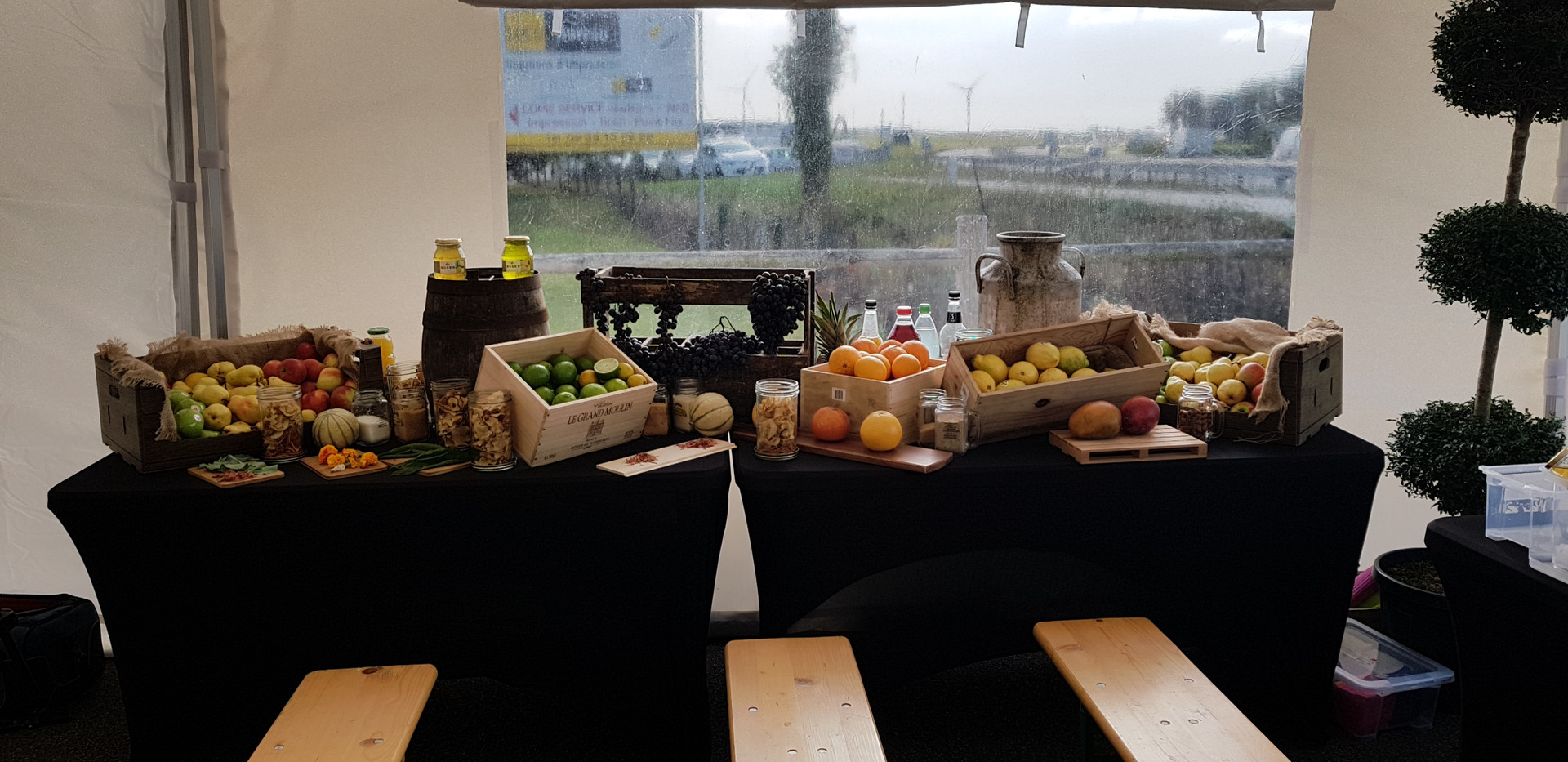 Buffet de fruit Normand