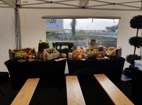 Buffet de fruit Normand