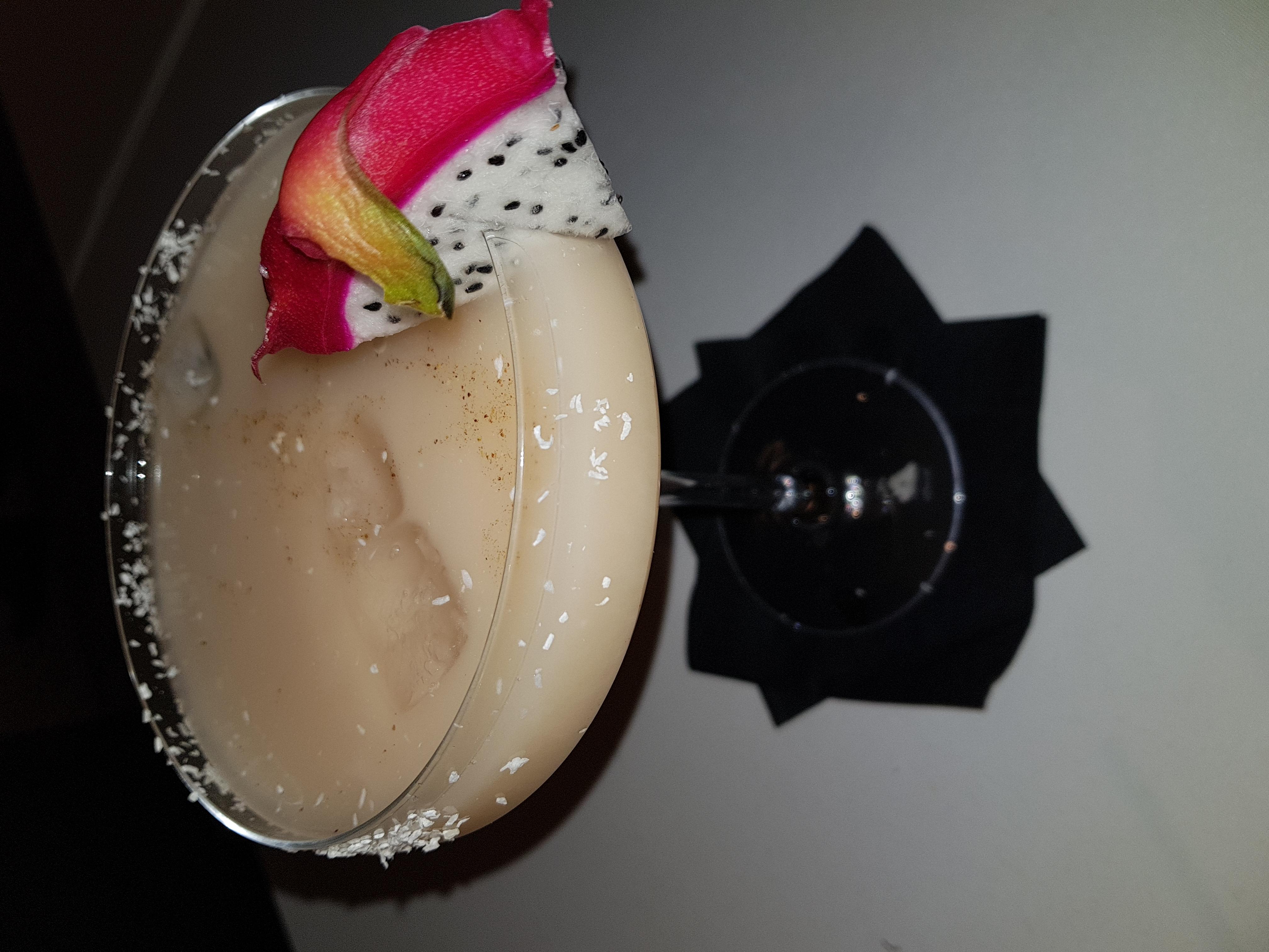 Cocktail équipe noire