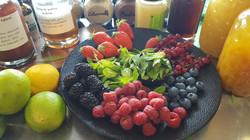 Fruits rouges & Sirop maison