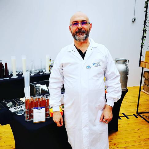 Inauguration laboratoire d'analyse d'isigny Saint Mère