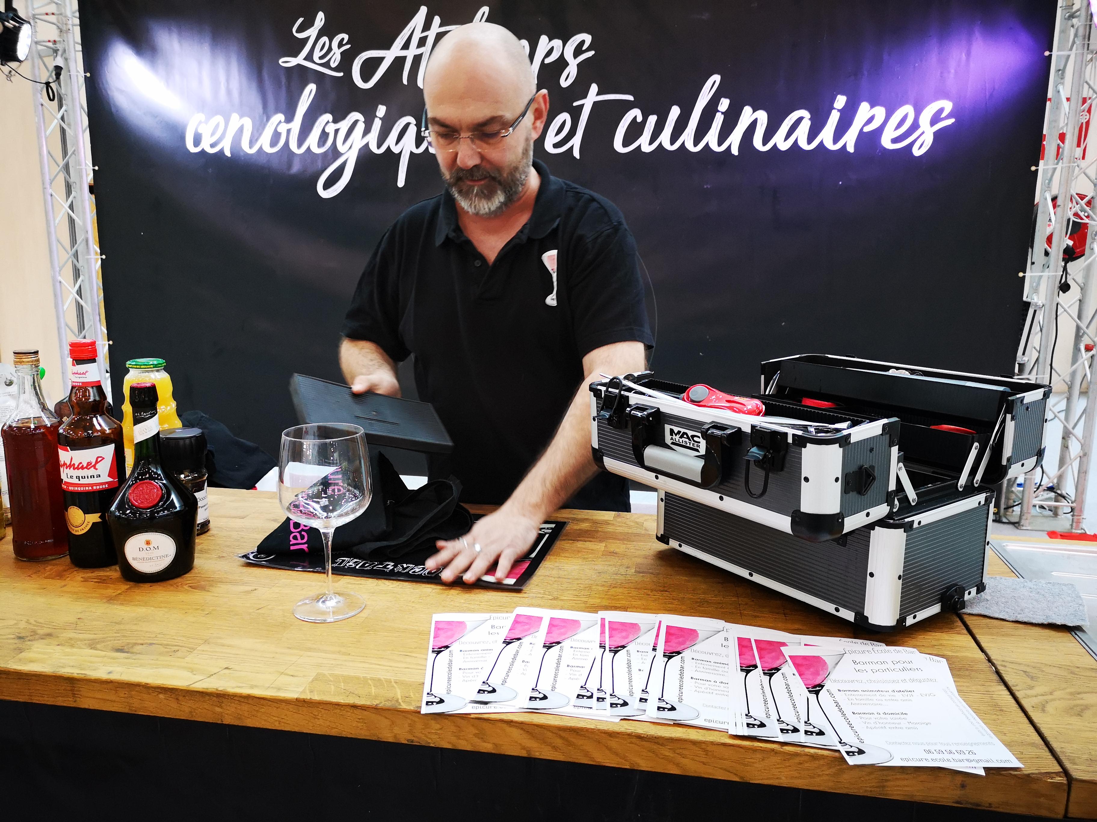 Atelier cocktails