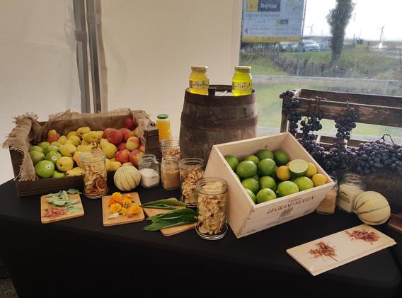 Buffet fruit pour cocktail Normand