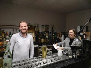 Formation cocktail Hélène et Florian