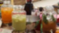 Cup's sans alcool à partir de fruits et légumes frais