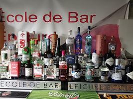 Présentation Gin Epicure Ecole de Bar