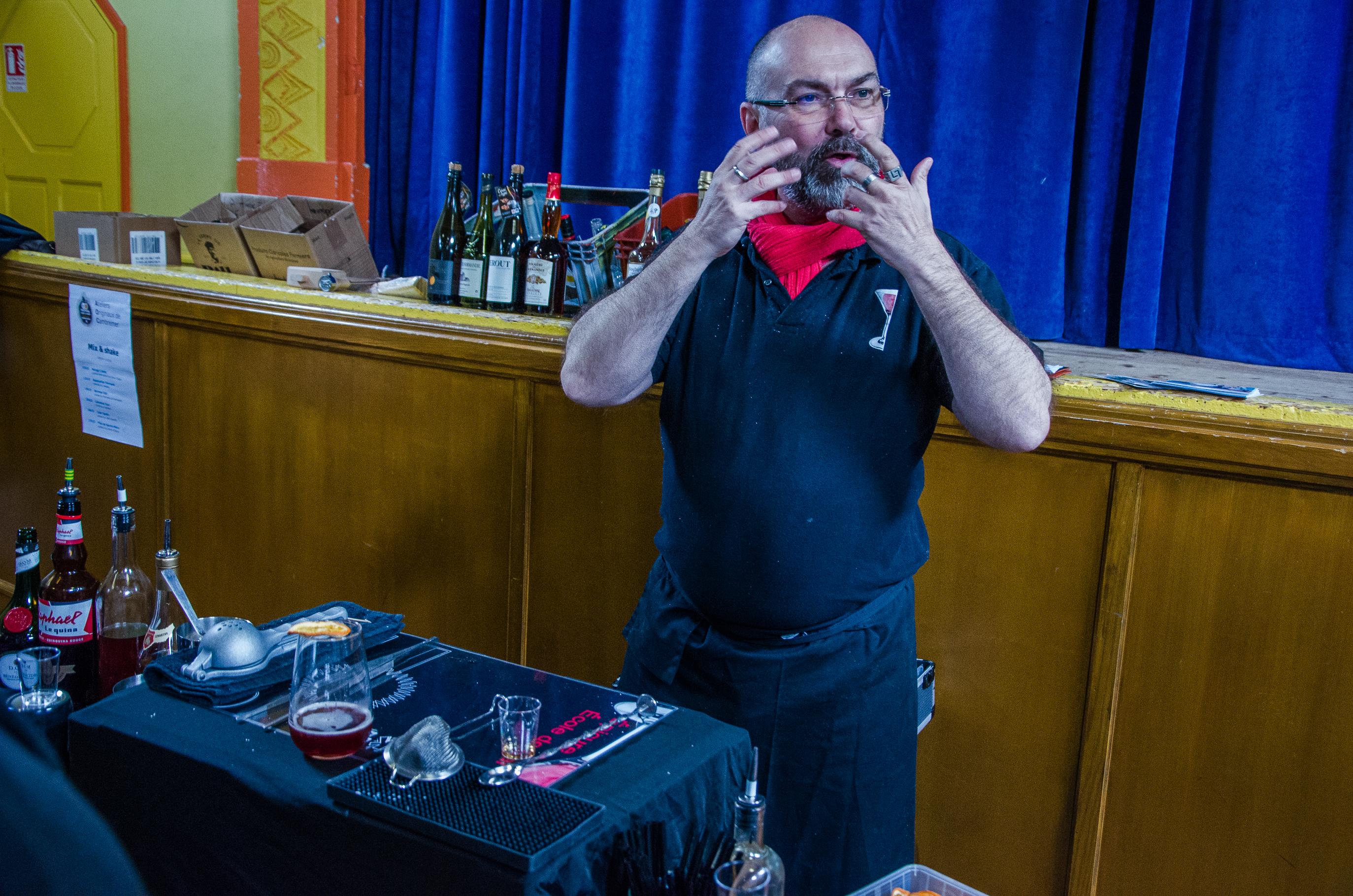 AOC Cambremer atelier cocktail