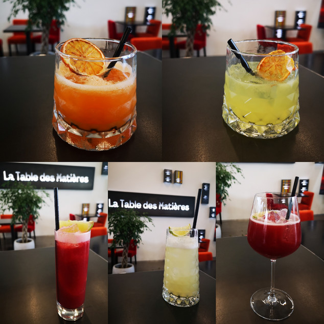 Formation Bartender - La table des matiè