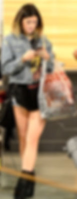 KYLIE JENNER carries a MCFADIN Topanga Fringe Bag