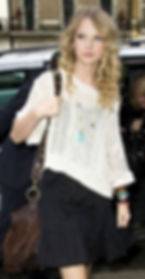 Taylor Swift with McFadin Fringe Bag