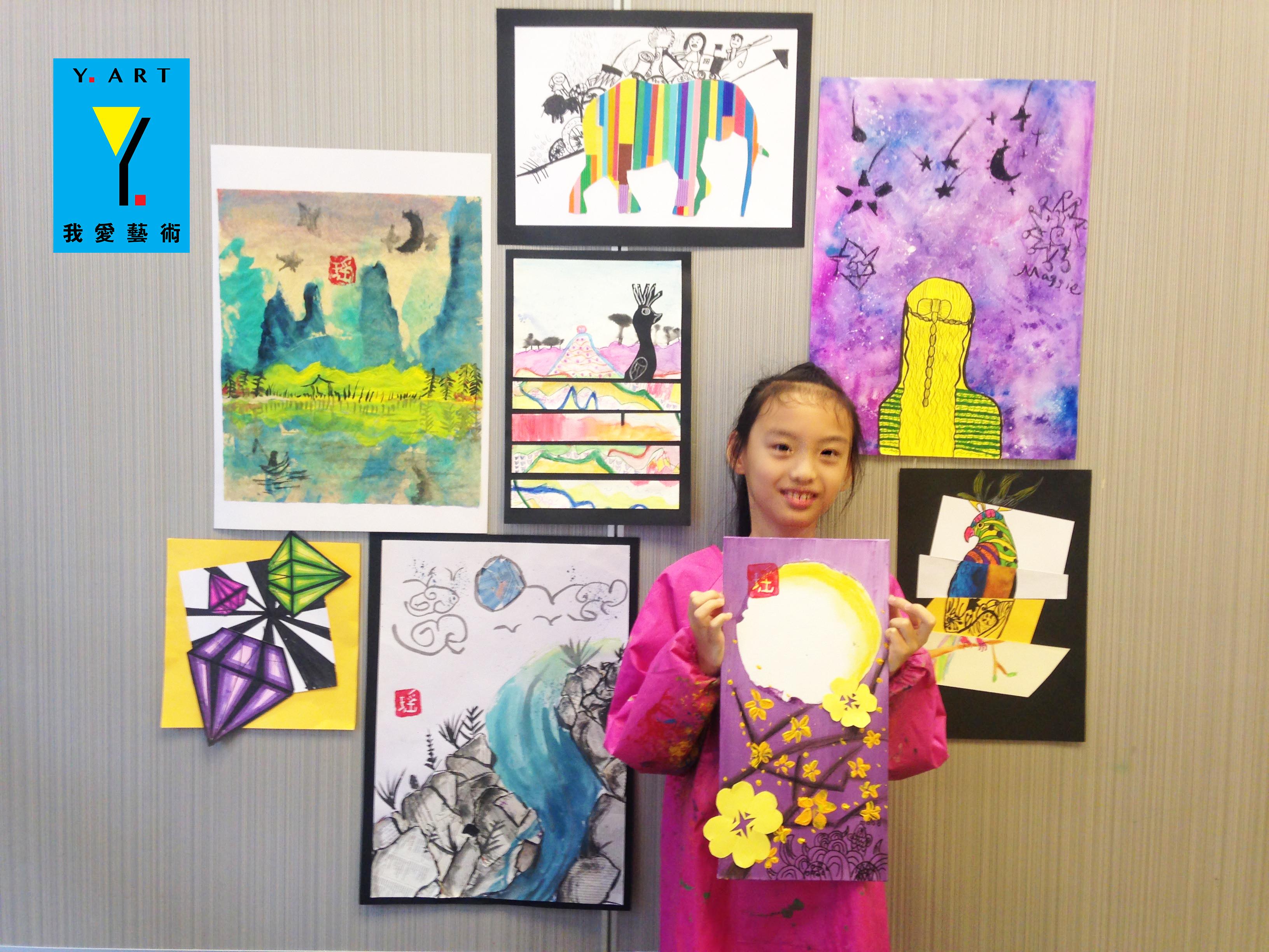 Student's artwork