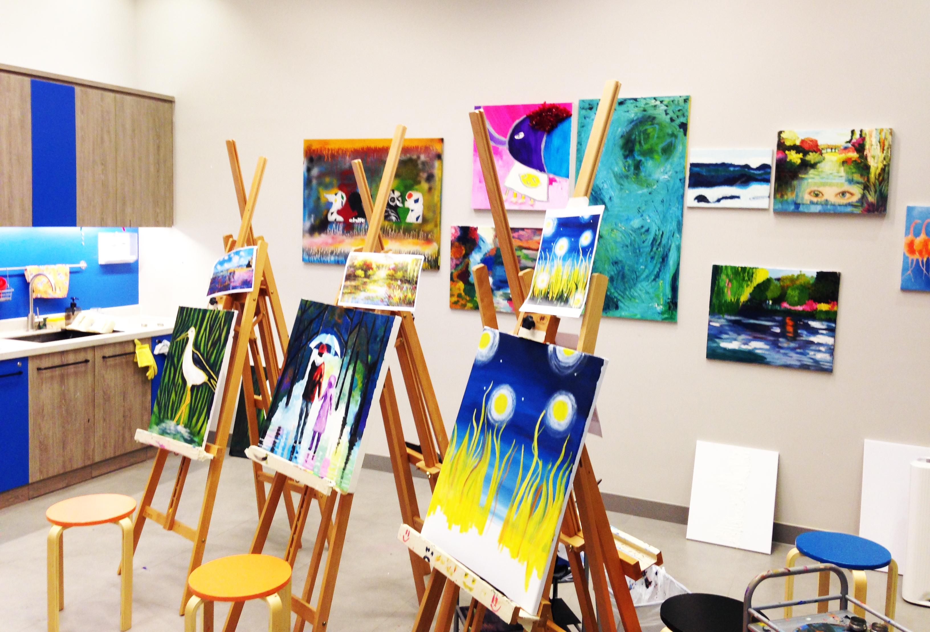 oil painting room